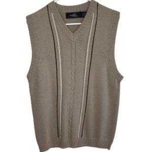 Studio Bill Blass Men's Knit Cotton Pullover